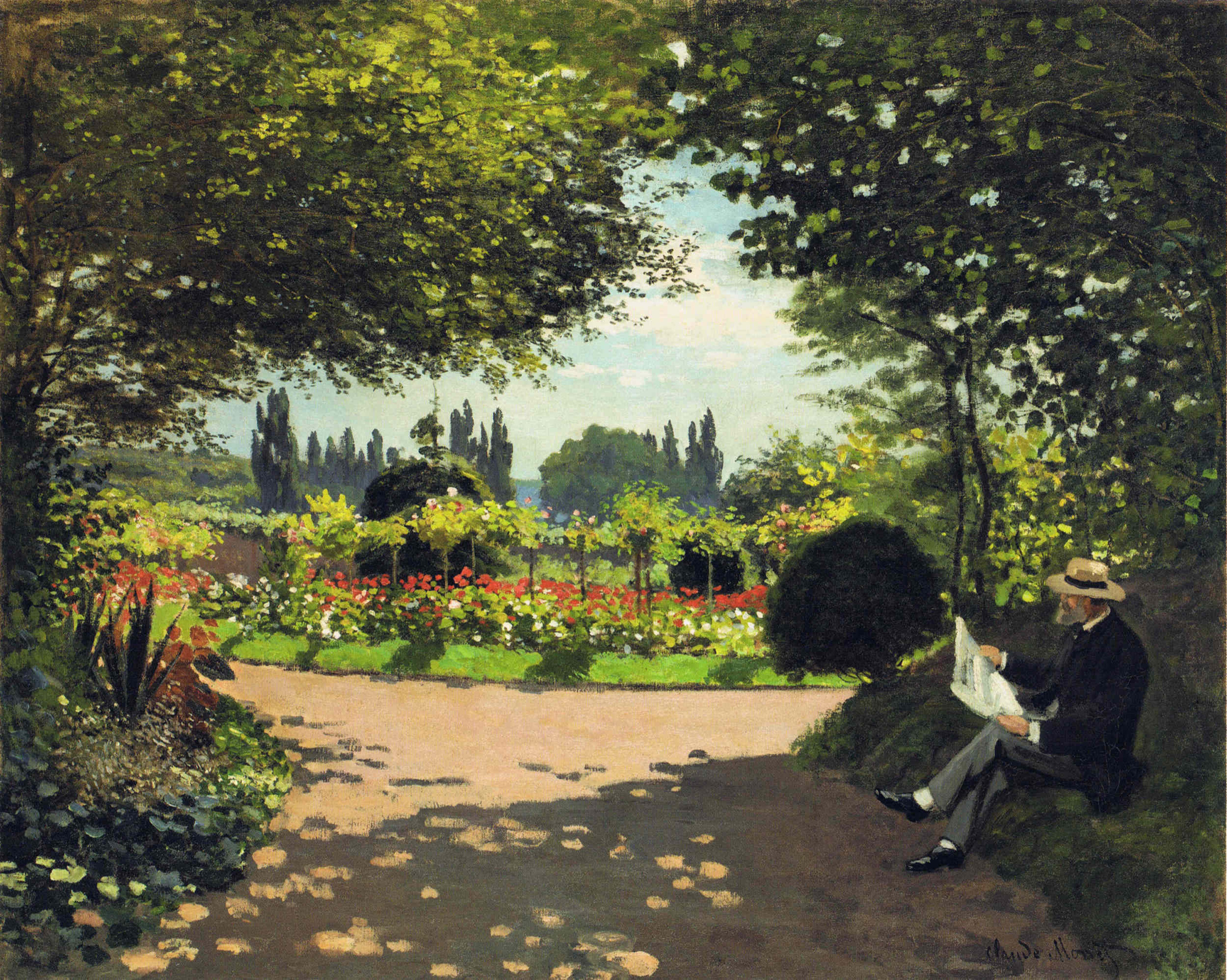 Press Kit For Painting The Modern Garden Monet To Matisse