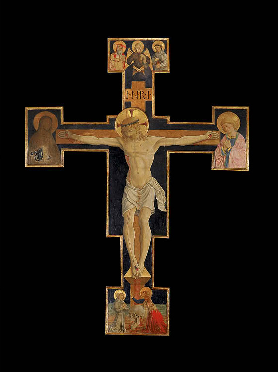 Painted Crucifix from the Church of San Michele Arcangelo