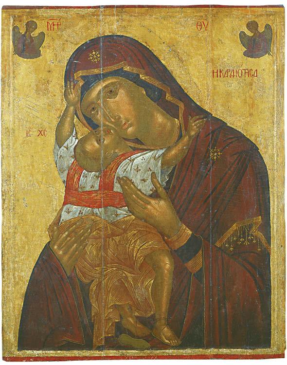 Icon of the Virgin Kardiotissa