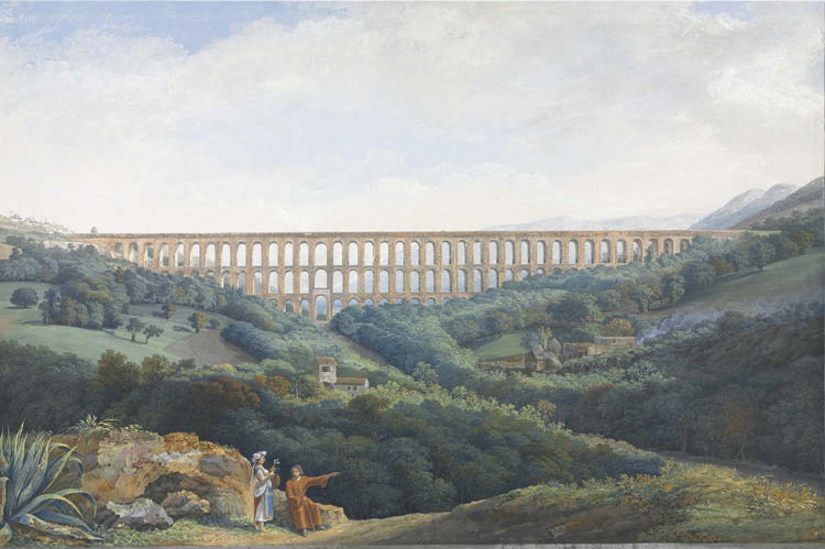 The Aqueducts of Caserta (Les Aqueducs de Caserta)