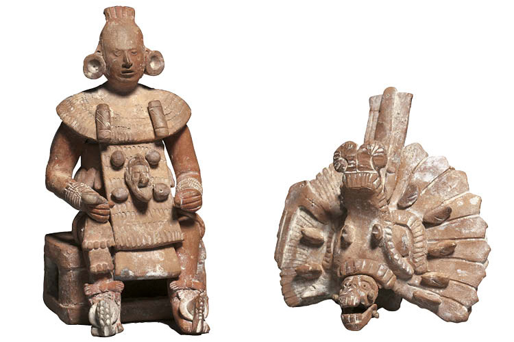 Figurine with Removable Headdress