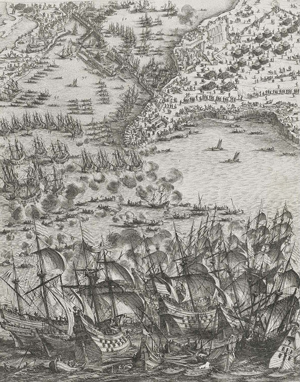 The Siege of La Rochelle: Plate 11
