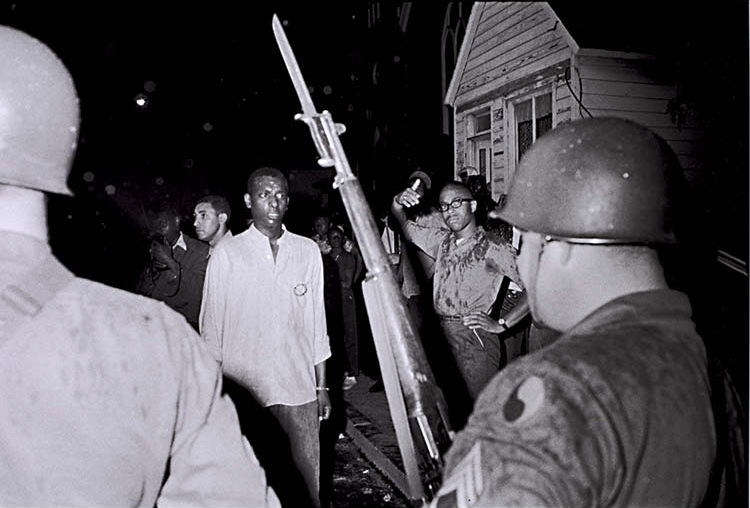Stokely Carmichael and the Maryland National Guard, from Memories of the Southern Civil Rights Movement