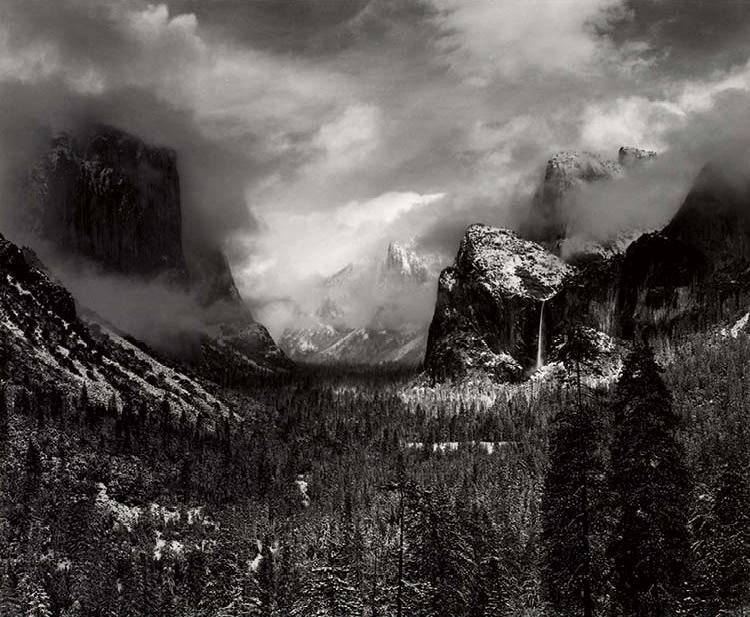 Winter Storm, from Yosemite Valley Portfolio III