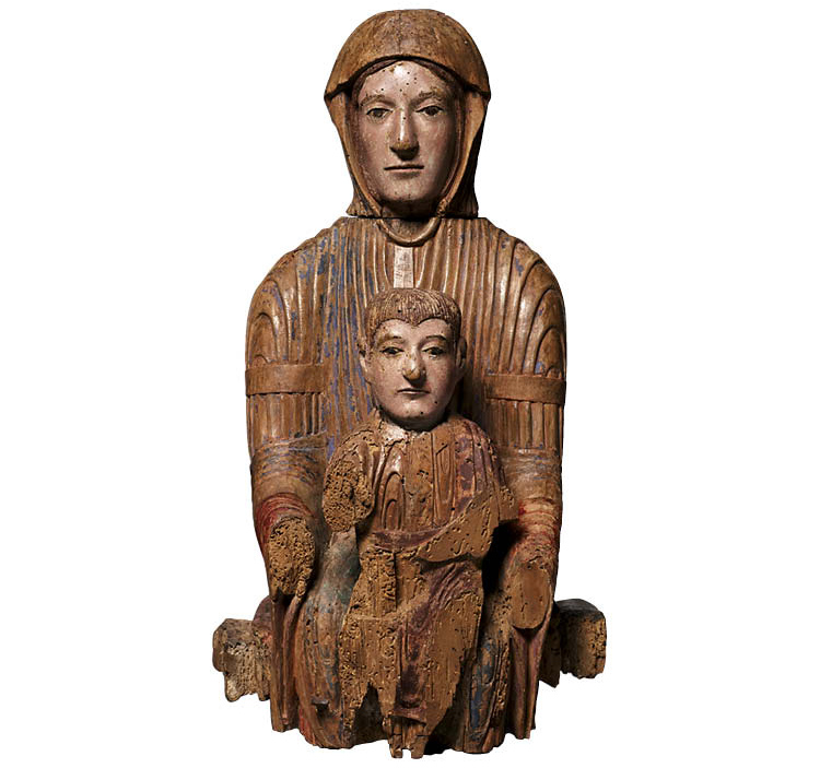 Virgin and Child in Majesty (Sedes Sapientiae)