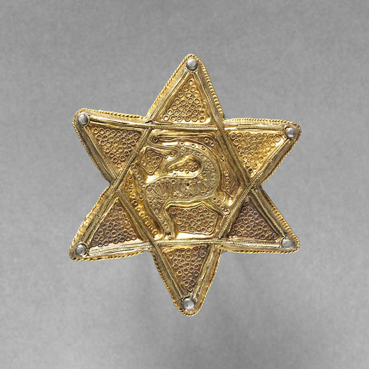 Brooch in the Form of a Six-Pointed Star