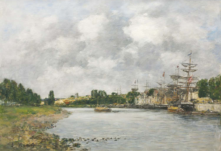 View of the Port of Saint-Valéry-sur-Somme