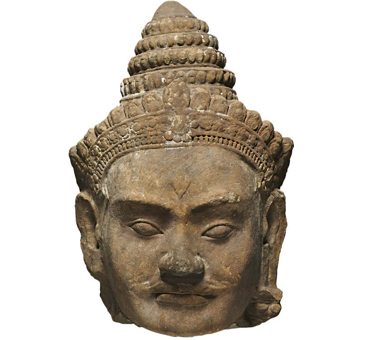 Colossal Head of Deva