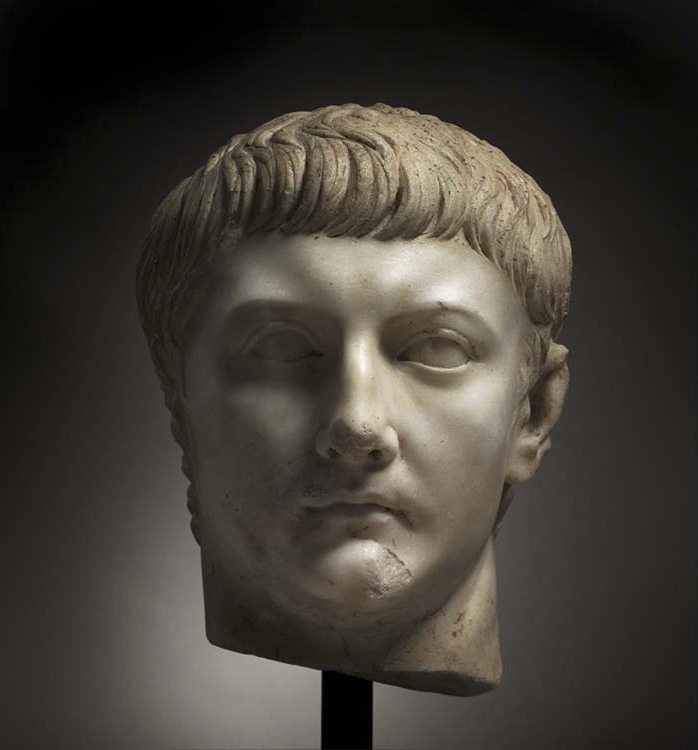Portrait Head of Drusus Minor