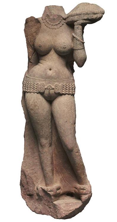 Standing Yakshi