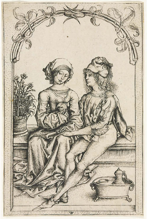 The Lovers (after the Housebook  Master)