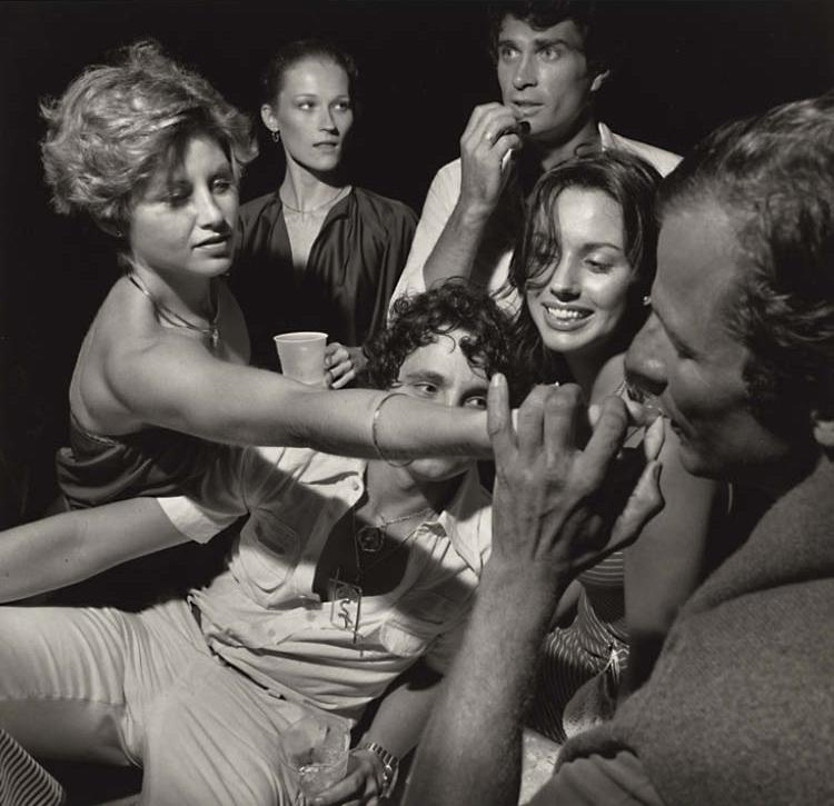 Peter Beard and Friends, East Hampton, August 1976