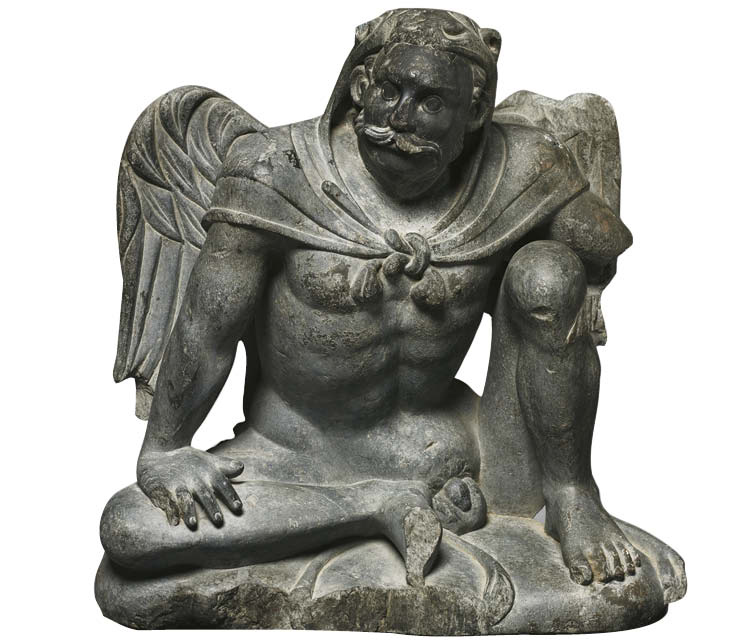 Winged Atlas Figure
