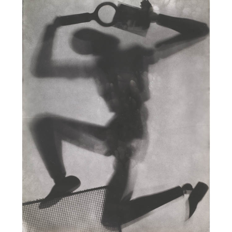El Lissitzky (Russian, 1890–1941). Mannequin, 1920s. Gelatin silver print from photogram negative; image 29.4 x 23.5 cm, paper 29.5 x 25.6 cm. John L. Severance Fund 2007.147