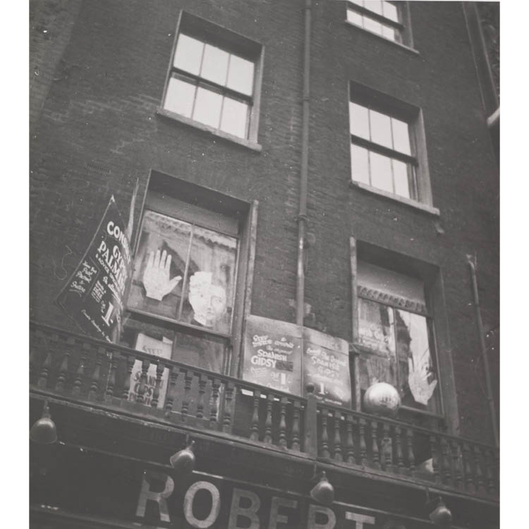 Dora Maar (French, 1907–1997). Gypsy Palmist, 1932. Gelatin silver print, ferrotyped; image 26.8 x 24 cm, paper 30.3 x 24 cm. John L. Severance Fund 2007.150