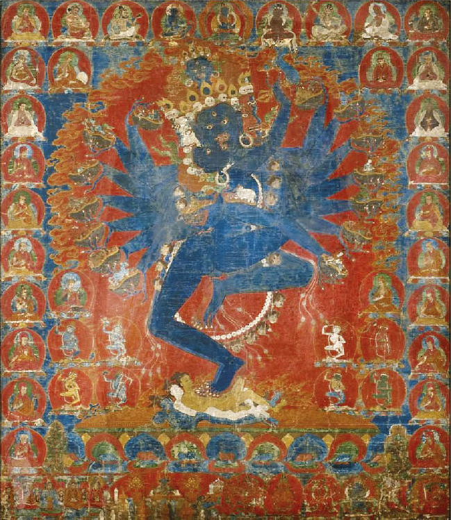 Hevajra and Consort Nairatmya