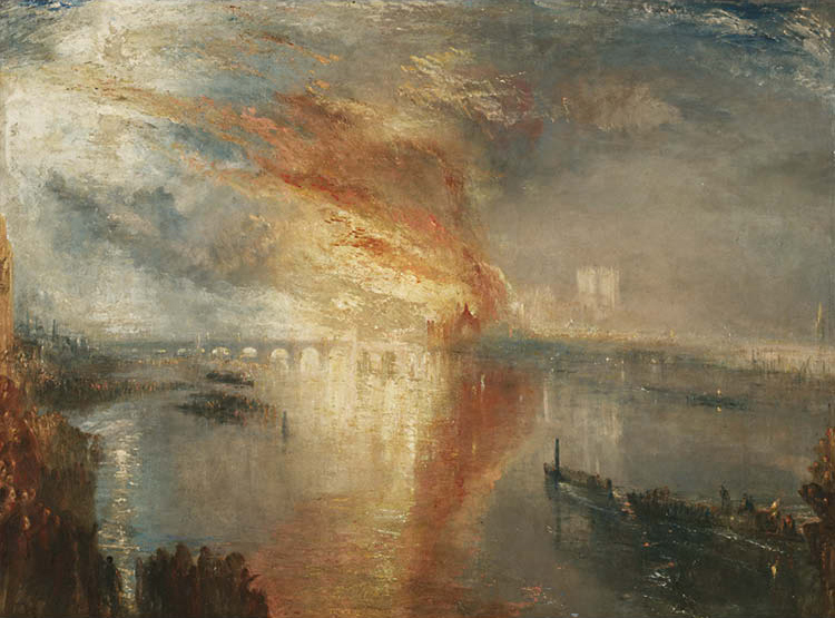 The Burning of the Houses of Lords and Commons, 16 October, 1834