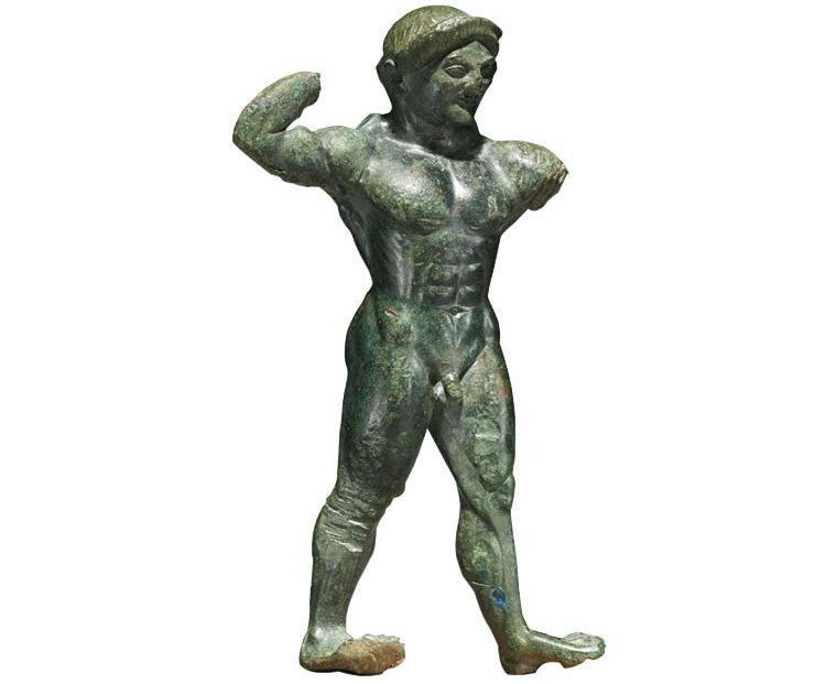 Statuette of an Athlete