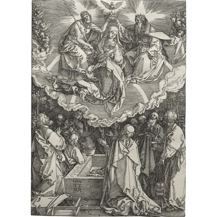 The Life of the Virgin: The Assumption and Coronation of the Virgin