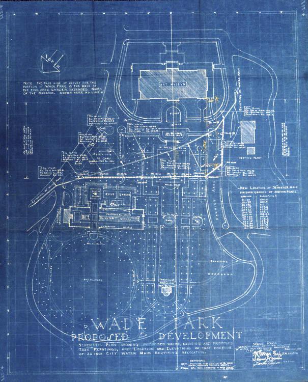 Wade Park site plan