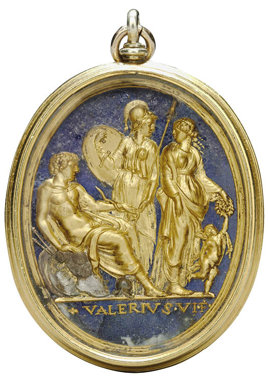 Mars, Minerva, Venus, and Cupid