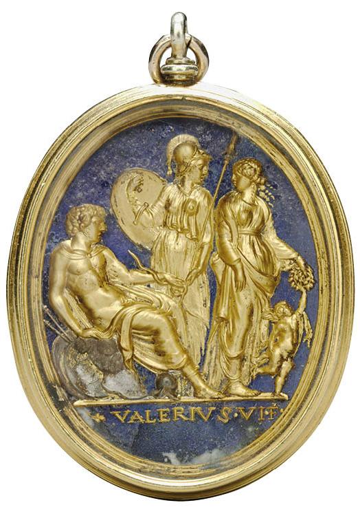 Mars, Minerva, Venus, and Cupid
