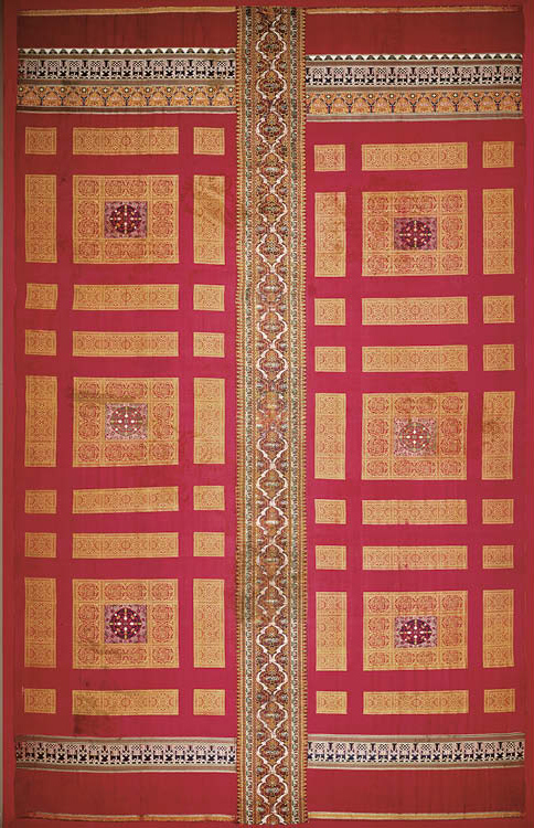 Alhambra Palace Silk Curtain-Hanging