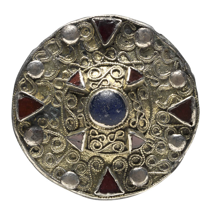 Disk Brooch with Central Boss
