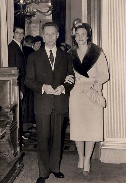 Odette and René Delenne