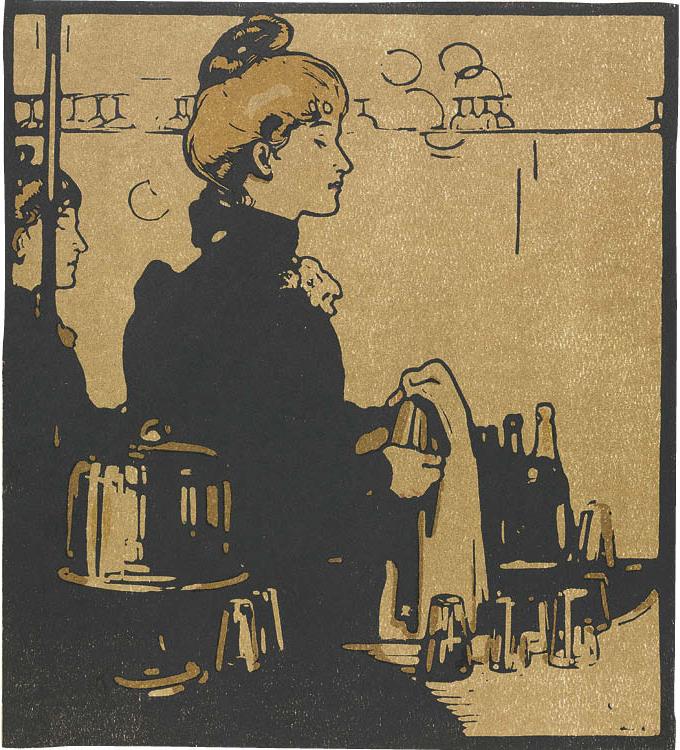 London Types: Barmaid
