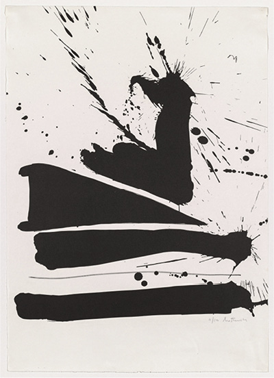 Automatism B, 1965–66. Robert Motherwell. The Cleveland Museum of Art, 1970.355. © Dedalus Foundation, Inc. / Licensed by VAGA, NY
