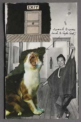 Self-Portrait, c. 1974. Lenore Tawney. Gift of Katharine Kuh, 1981.178