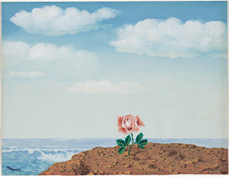 Utopia, 1945. Reneé Magritte. Bequest of Lockwood Thompson, 1992.275. © 2013 C. Herscovici, London / Artists Rights Society (ARS), New York