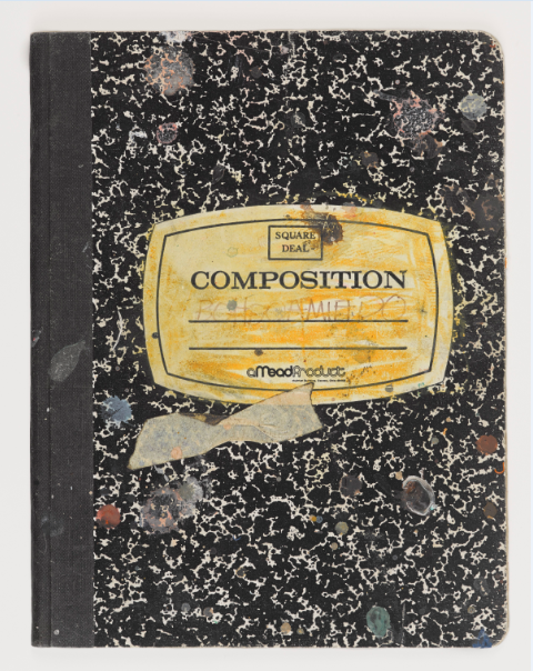 Untitled Notebook (front cover)