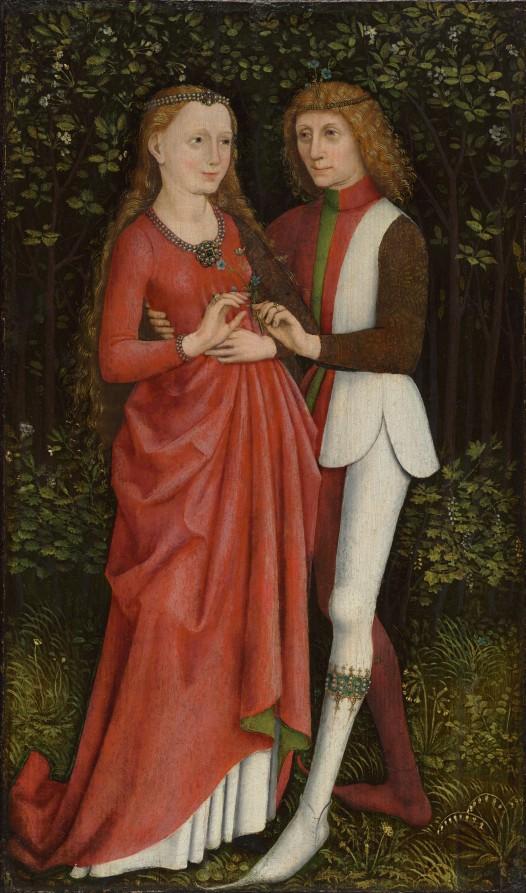 A Bridal Couple, 1470s. CMA, 1932.179