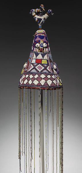 Crown, 1900s. Guinea Coast, Nigeria, Yoruba. 1995.22