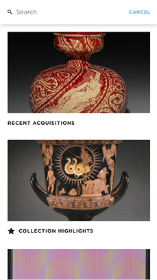 ArtLens App screenshot - Recent Acquisitions