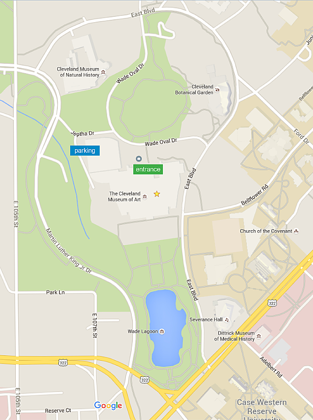 Wade Oval Map