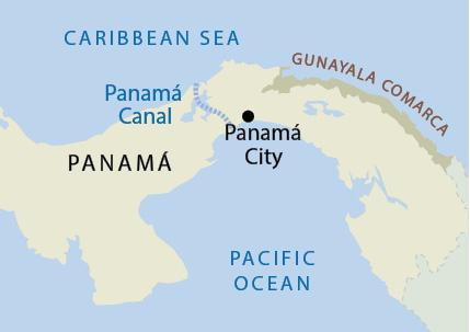 Gunayala map