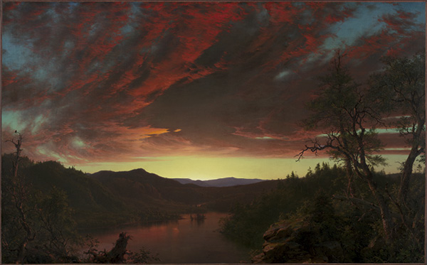 Twilight in the Wilderness, 1860. Frederic Edwin Church. Mr. and Mrs. William H. Marlatt Fund, 1965.233