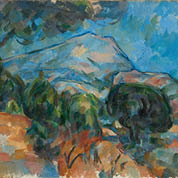 Mount Sainte-Victorie, Cezanne
