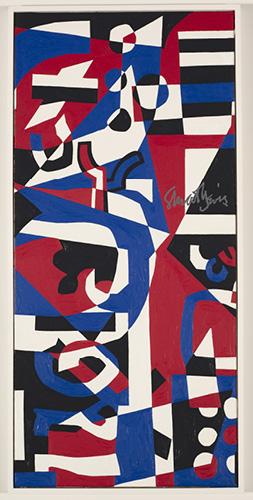 Composition Concrete (Study for Mural), 1957–60. Stuart Davis. 1964.2. © VAGA, New York, NY