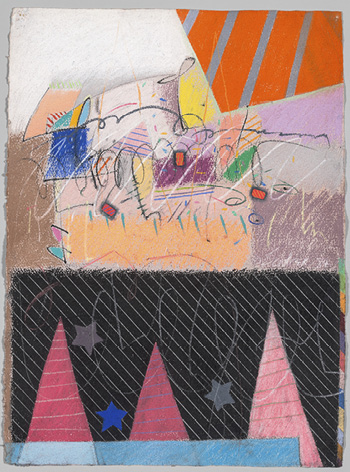 Shoutin', 1985. Moe Brooker. 2017.205