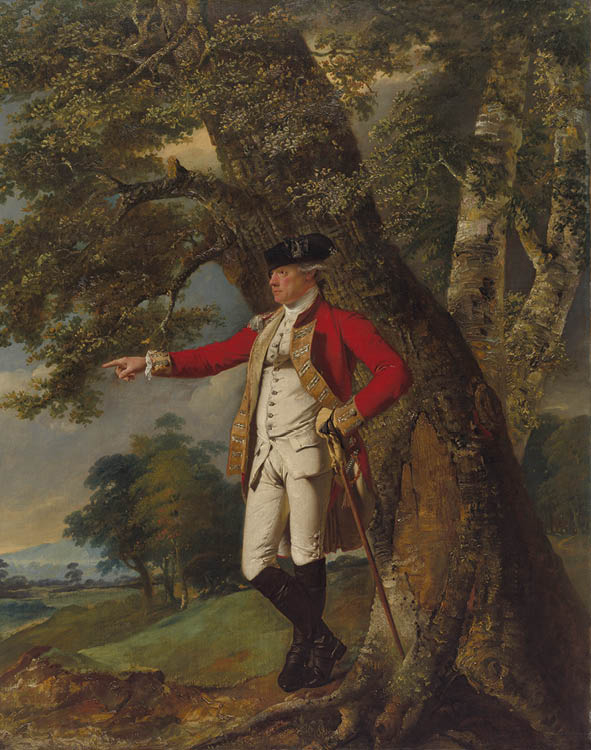Portrait of Colonel Charles Heathcote  c. 1771–72. Joseph Wright of Derby (British, 1734–1797). Oil on canvas; 127 x 100 cm. John L. Severance Fund, 2017.100