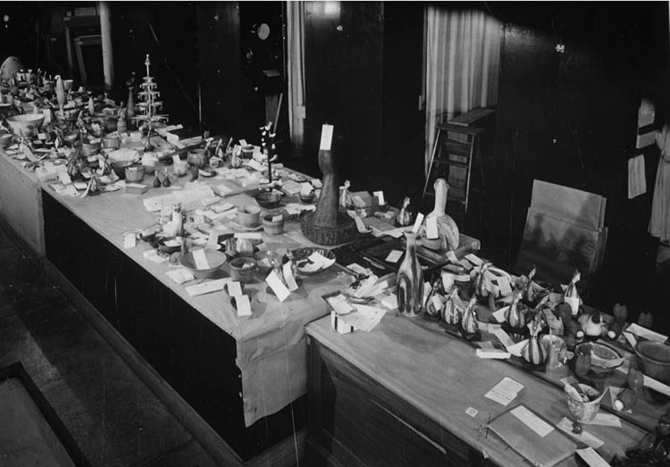 May Show Submissions The logistics of keeping track of all the May Show entries required detailed recordkeeping. That effort over many decades pays off to this day as the Museum Archives makes this information available to worldwide audiences.