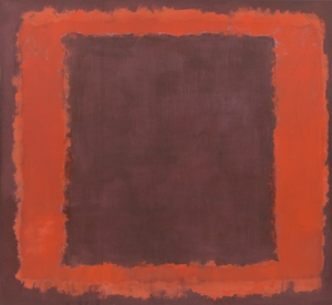 The Last Days of Pompeii: Decadence, Apocalypse, Resurrection. Untitled (Seagram Mural Sketch), 1959. Mark Rothko (American, b. Russia, 1903—1970). Oil and mixed media on canvas. National Gallery of Art, Washington, DC, Gift of the Mark Rothko Foundation, Inc. 1985.38.5. © 1998 Kate Rothko Prizel & Christopher Rothko / Artists Rights Society (ARS), New York