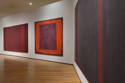 Rothko in Pompeii installation