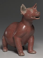 Male Dog, 200 BC–AD 300. West Mexico, Colima, Comala style (200 BC–AD 300). Earthenware with burnished red slip, Overall: 39.5 x 20.8 x 47.8 cm. Cornelia Blakemore Warner Fund, 1964.37