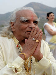 """Image from """"Iyengar: The Man, Yoga, and the Student's Journey"""""""