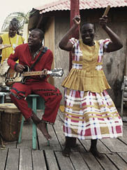 Image of Garifuna Collective. Photo by Peter Rakossy